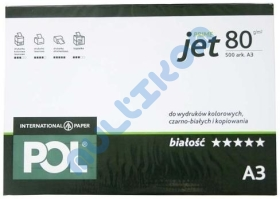 Papier A3 International Paper Pol Jet Prime 80g