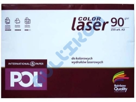 Papier A3 International Paper Pol Color Laser 90g