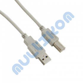 4world Kabel USB 2.0  A-B M/M  1,8m DO DRUKARKI