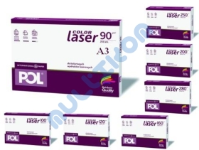 Papier A3 International Paper Pol Color Laser 100g