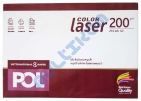 Papier A3 International Paper Pol Color Laser 200g